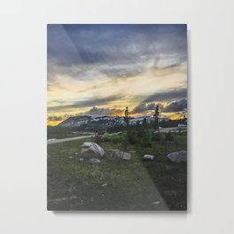A Sign for the Top of the World Metal Print
