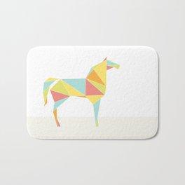 Origami Horse by Friztin Bath Mat