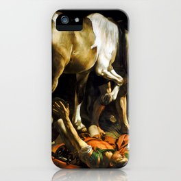 Caravaggio Conversion on the Way to Damascus iPhone Case