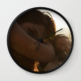 Sunset Sorrow Wall Clock