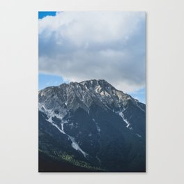 Clouds over the Mountain // Landscape Photography Canvas Print