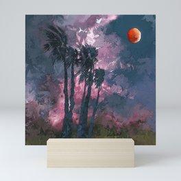 Tropic Moon Mini Art Print