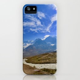 columbia icefield in summer, 2017 iPhone Case
