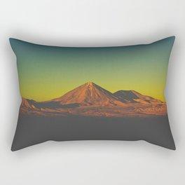 Sunset on Mars (San Pedro de Atacama, Chile) Rectangular Pillow