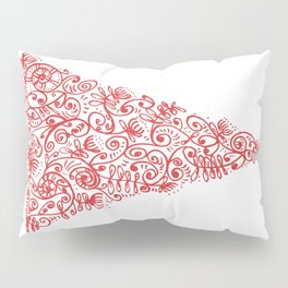 Christmas tree in New Zealand Pillow Sham