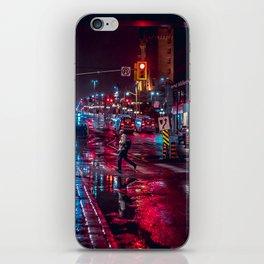 night stroll iPhone Skin