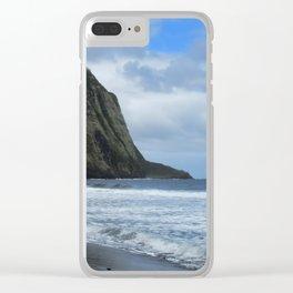 Cliffs Meet The Ocean Clear iPhone Case