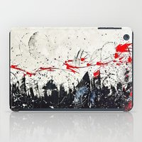 sin city iPad Cases featuring Cosmos shower (Sin City inspired) by Alejandro Polania
