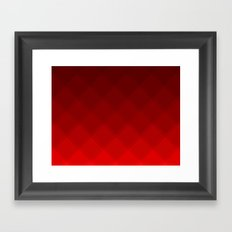 Cherry Tile Pattern Framed Art Print