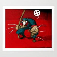 Revolution X Art Print