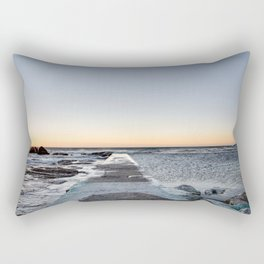 Into the water Rectangular Pillow