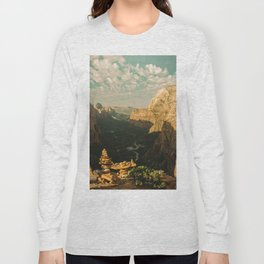 Zion Mornings - 127/365 National Parks Long Sleeve T-shirt