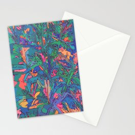 Neon color lavenders Stationery Cards