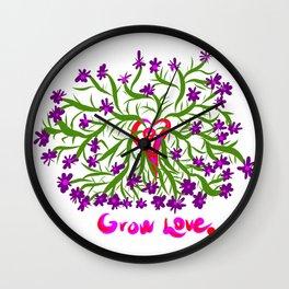 growlove Wall Clock