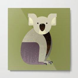 Whimsy Koala Metal Print
