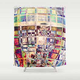 Spectral Structure Shower Curtain