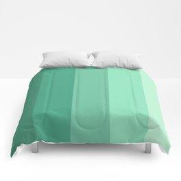 Mint Water Comforters