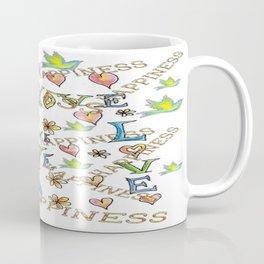 Love Joy Happiness Coffee Mug