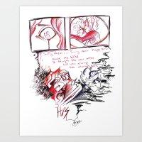Rejection Art Print