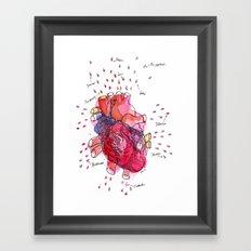 Heartwork Framed Art Print