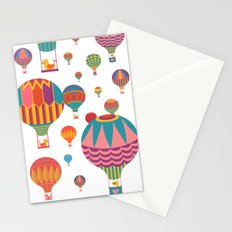 Air Balloons Stationery Cards