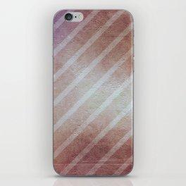 Vintage Antique Grunge Striped Pattern iPhone Skin
