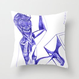 «Pan y circo» Throw Pillow
