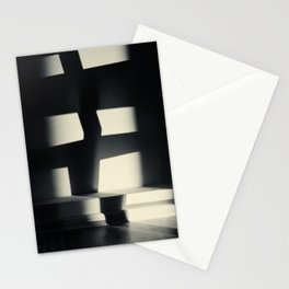 German Expressionism Experiment Abstract Shadows Stationery Cards