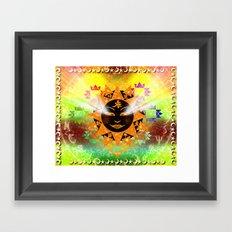 Celestial Lights Framed Art Print
