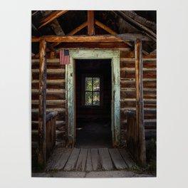 Garnet Cabin Poster