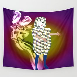 violet ramataupia Wall Tapestry