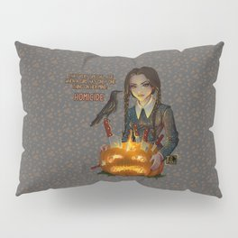 Wednesday Addams - Homicide Pillow Sham