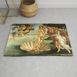 Sandro Botticelli The Birth Of Venus Rug