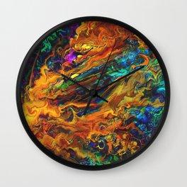 Crippled Greed Wall Clock