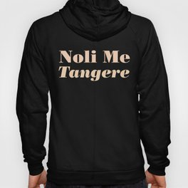 Noli Me Tangere - Touch Me Not Hoody