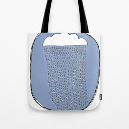 Heartly Raining Tote Bag