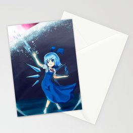 Don't mess with Cirno Stationery Cards