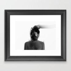 Shut Your Eyes Framed Art Print