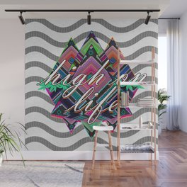 High on Life & Festival Vibes Tribal Pattern Wall Mural