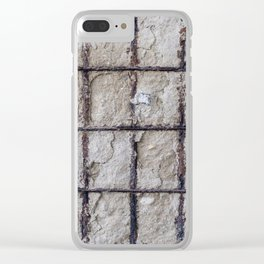 Iron in the wall Clear iPhone Case