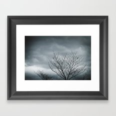 Your Coldness Framed Art Print