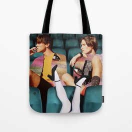 Before the movie viewing Tote Bag