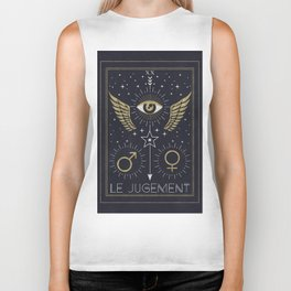 Le Jugement or The Judgement Tarot Biker Tank