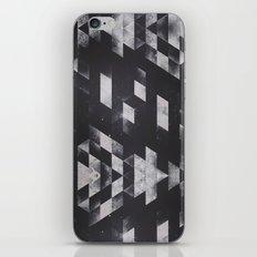 dyy blyckk fryydyy iPhone & iPod Skin