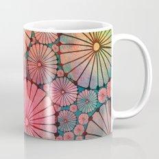 Abstract Floral Circles Mug
