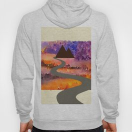 There is always a road. Hoody