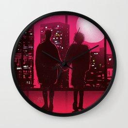 Tyler and Marla scene Wall Clock