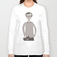 woody Long Sleeve T-shirts featuring Woody by Judy Kaufmann