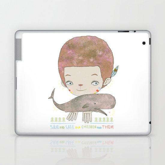 Extinction - SAVE SAFE Laptop & iPad Skin