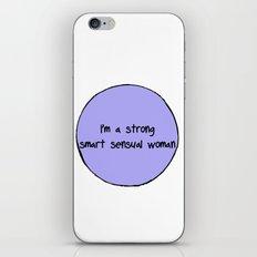 Sensual Woman iPhone & iPod Skin